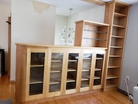 Built-In or Floating Buffet Room Divider CALGARY