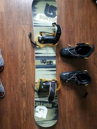 Burton snow board and boots Calgary, T2A 7N4