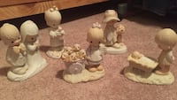 Five precious moments figures. Fort Erie, L0S