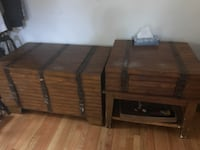 Box table and side table Burke