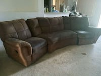 Couch with recliners at end (one broken) Ocoee, 34761