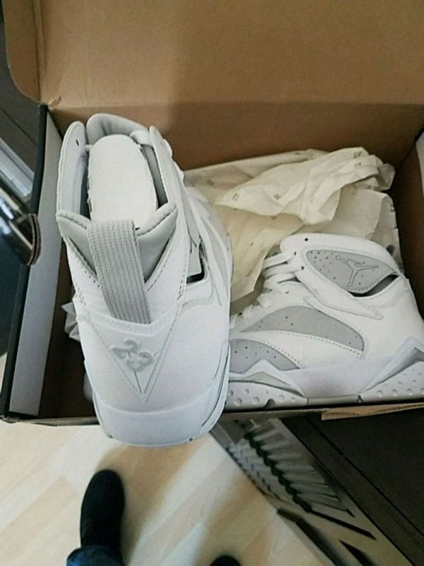 ad9d2f0f2edf13 Used Air jordan 7 retro white for sale in Garland - letgo