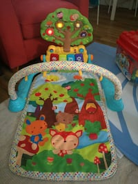 baby's multicolored activity gym Vancouver, V6T 1Z4
