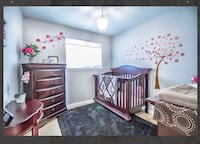 Crib and dresser Brampton, L6T