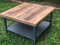 Reclaimed Barn Wood Top Coffee Table Centreville, 20120