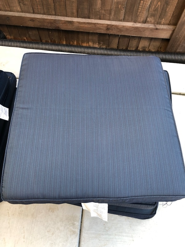 New patio furniture cushions. be3f22a3-4dde-40e5-9966-a23c028fdc74