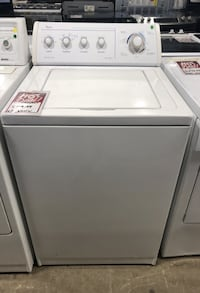 ❥Whirlpool top load washer. White. Used. - Seaford