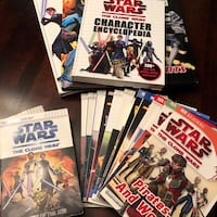 Star Wars levelled readers & visual guides good-excellent condition** Hamilton, L8E 5T9