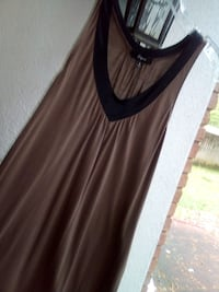 Express S black and coffee brown dress Madison, 39110