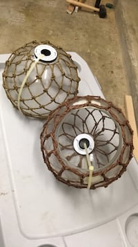 brown and white pendant lamp Houston, 77062