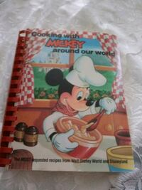 """COOKING WITH """"MICKEY"""" AROUND OUR WORLD"""