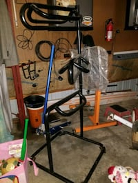 Saddle rack w/blanket rack