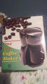 New never used 1 cup coffee maker Benton Harbor, 49022