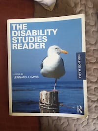 The disability studies reader by Colin Cameron  Brampton, L6R 1S5