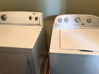 Whirlpool electric washer and dryer set Gaithersburg, 20882
