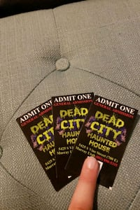 Tickets to Dead City Haunted House Sandy