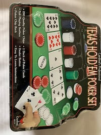 New Texas hold 'em poker set