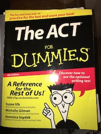 The Act For Dummies book Leon, 25123