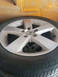 original honda civic rims and tires  Toronto, M3C 3A7