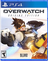 Jeu overwatch origins edition ps4