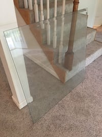 3' Square Bevel Glass Table Top - Cookeville pickup Smyrna, 37167