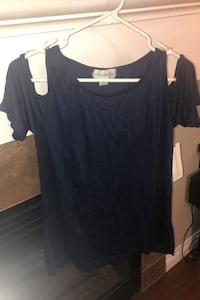 Cute dressy T shirt navy