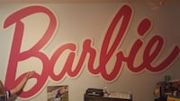 Barbie Sign - 1-of-a-Kind!