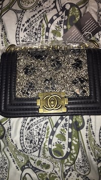 Stone Accented Chanel Bag
