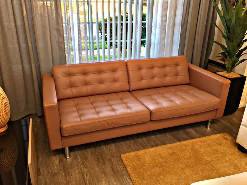 Sold Ikea Landskrona Leather Couch
