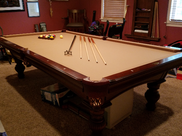 Etonnant Used 9u0027 Olhausen Pool Table For Sale In RICHMOND   Letgo