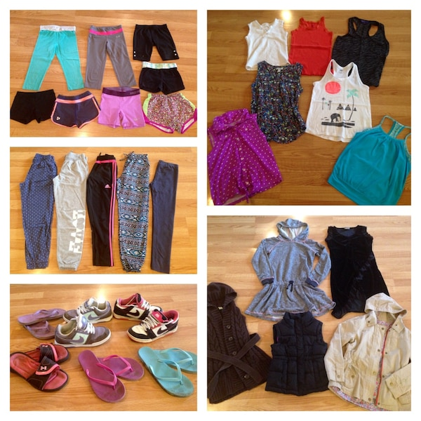 999a1a32d77f2 Used Huge Brand Name 170+ Piece Youth Girl Clothes Lot! for sale in Winnipeg  - letgo