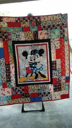 Mickey n Miney Quilt