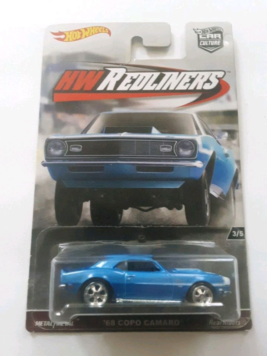 Photo 2017 Hot Wheels Car Culture HW Redliners '68 COPO Camaro 3/5