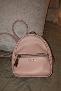 Rose Pink Mini Guess Backpack brand new
