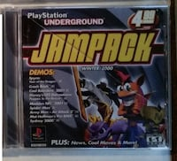 PS1 game - Playstation Underground Jampack Mount Airy
