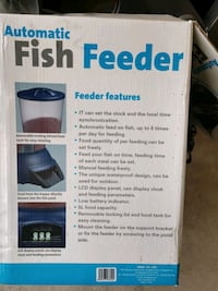 Fish feeder automatic for pond Albuquerque, 87120