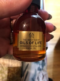 Body Shop OILS OF LIFE  Intensely Revitalizing  FACIAL SERUM OIL 50 ml Toronto, M8W 3P3
