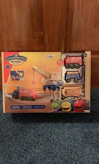 Chuggington wooden railway set.