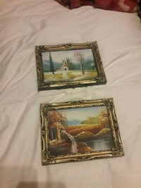 2 small paintings Asheville, 28806
