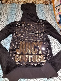Juicy Couture leopard Velour Zipup size XS  Charles Town, 25414