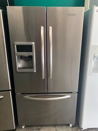 A stainless steel French door Kitchen Aide refrigerator  Lehigh Acres, 33973