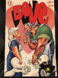Cartoon Books Bone #6, September 1994 564 km