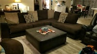 Sectional couch, ottoman, spinning lounge chair Houston, 77068