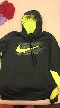 black and yellow Nike pullover hoodie Duncan, 29334