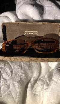 Coach Glasses with the case