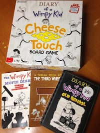 Whimpy Kid books and game