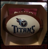 Tennessee TITANS Football Ornament Collegiate Licensed Collectible Christmas Ornament