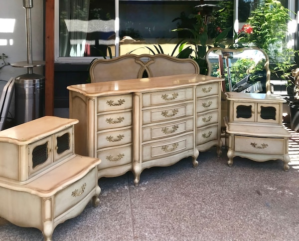 KentCoffey Piece French Bedroom Set Chest Of Drawersfurniture - Kent coffey bedroom furniture