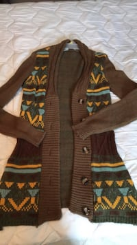 Brown and green zip-up jacket Easley, 29642