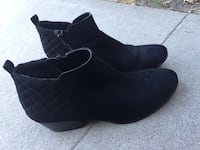 Style&Co Black Booties size 81/2 Westminster, 92683